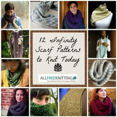 Free infinity scarf pattern for beginners pattern includes links 12 infinity scarf patterns to knit today allfreeknitting dt1010fo
