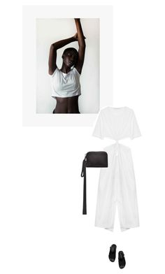 """/"" by darkwood ❤ liked on Polyvore featuring J Brand, Christopher Esber, The Row and Marni"