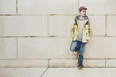 """Seb """"Gorey"""" Gorey Huf Fall/winter 2014."""