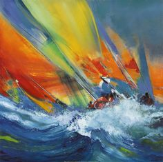 Find any Poster, Art Print, Framed Art or Original Art at Great Prices. All Posters and Custom Framing Satisfaction Guaranteed, Fast Delivery. Sailboat Painting, Boat Art, Kunst Poster, Oil Painting Abstract, Painting Inspiration, Art Decor, Canvas Art, Abstract Canvas, Art Prints