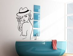 Wall Vinyl Sticker Decal Fashion Lady with Hat Beauty Saloon Art Design Room Nice Picture Decor Hall Wall Chu1409 Thumbs up decals http://www.amazon.com/dp/B00FUABACC/ref=cm_sw_r_pi_dp_OEdYtb197KD2VRCG