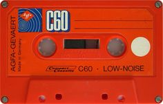AGFA LOW-NOISE C60 Red