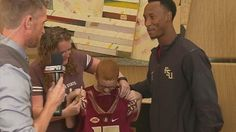 FSU football player who sat with autistic boy at lunch gives family game tickets…