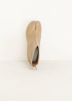 Maison Martin Margiela Tabi Platform Boot (Natural)