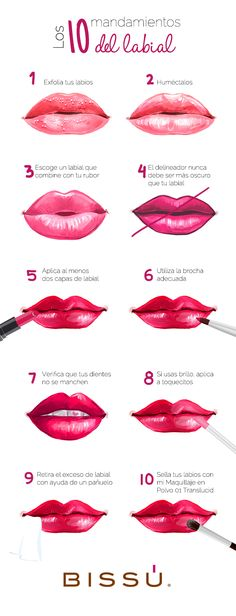 15 Cosas que toda adicta al maquillaje debe saber 15 Things every makeup addict should know Maquillage Pin Up, Maquillage Black, Beauty Make Up, Beauty Care, Lip Makeup, Makeup Tips, Makeup Art, Prom Makeup, Wedding Makeup
