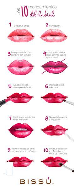 Ten cuidado al pintar tus labios, no vayas a cometer estos errores.