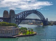 Sydney Harbour Bridge. Photo taken from the Carnival Spirit March…