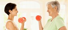 Photo about Healthy elderly woman doing dumbbell exercise with personal trainer at home, smiling. Image of dumbbell, doing, helping - 18216255 Dumbbell Workout, Personal Trainer, Fit Women, Fitness, Base, Woman, Healthy, Grow Up People, Health And Wellness