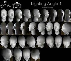 Thought it would be useful to have lighting references (plan on uploading more at different angles) but my camera does a b. Lighting Angle Ref 1 Head Angles, Face Angles, Face Reference, Anatomy Reference, Drawing Reference, Figure Drawing, Human Pictures, Light Study, Lighting Concepts