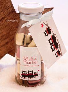 Schenken leicht gemacht - Verpackungsset No. 8 Glücklichmacher