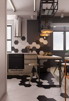 Small apartment design.Kiev #kitcheninteriordesignapartment