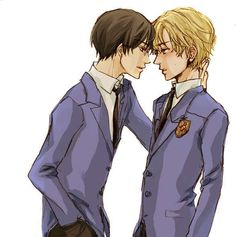 Tamaki & Kyoya - Ouran High School Host Club Fan Art (23206611 ...