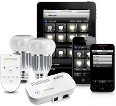 Greenwave Reality Smart LED bulbs. They energy-efficient LEDs for #illumination