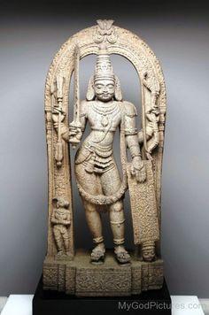 Statue Of Virabhadra-uk810