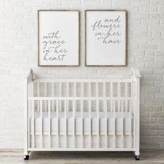 Nursery Wall Quotes, Nursery Signs, Nursery Decor, Room Decor, Nursery Art, Wall Decor, Floral Nursery, Nursery Neutral, Nursery Prints