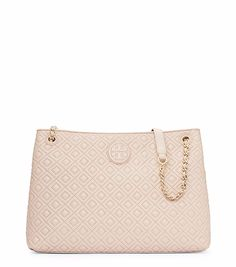 71af53f8f0 Visit Tory Burch to shop for Marion Quilted Center-zip Tote and more Womens  Handbags. Find designer shoes