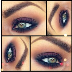 While this eye is quite lovely, I find this method of showing eye makeup very, hm, distracting? Please don't show me an upside-down eye!