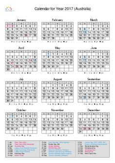 printable calendar 2017 for australia pdf - Tabla Periodica Keith Enevoldsen En Espanol