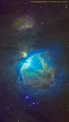 Orion Nebula False Colour | Flickr - Photo Sharing!
