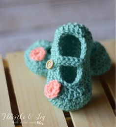 free crochet baby bootie patterns