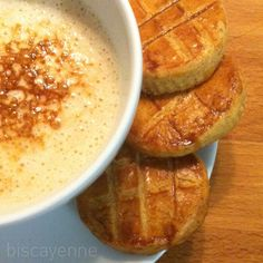 Biscayenne: Sablé bretons de café