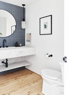 How to Design a Modern, Dramatic Powder Room The First Mountain House Bathroom Reveal: Our Quiet Drama Powder Bath Bad Inspiration, Bathroom Inspiration, Steam Showers Bathroom, Small Bathroom, Master Bathrooms, Condo Bathroom, Vanity Bathroom, Modern Bathrooms, Remodel Bathroom