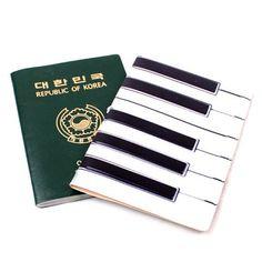 Piano case passport cover!
