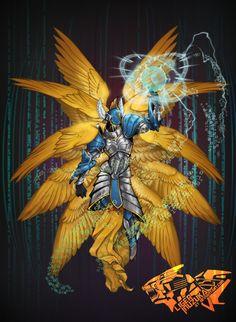 Seraphimon - fanart