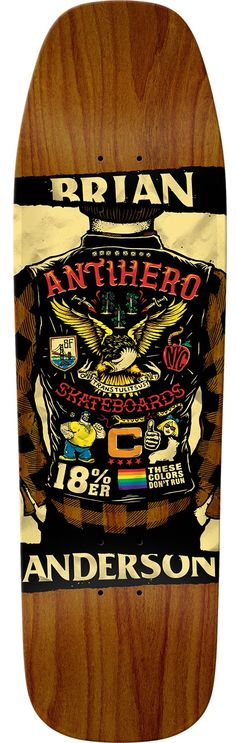 AntiHero Skateboards Skate Decks, Skate Surf, Skateboard Design, Skateboard Decks, Anti Hero Skateboards, Punk Art, Longboarding, Concept Cars, Surfboard