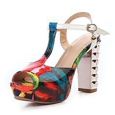 QueenFashion Womens Open Toe Peep Toe High Heels PU Soft Material Solid Sandals with Chunky Heels, Orangered, 36 QueenFashion http://www.amazon.com/dp/B00KZFUJTC/ref=cm_sw_r_pi_dp_Cc4Xtb0VAB96TH3Q