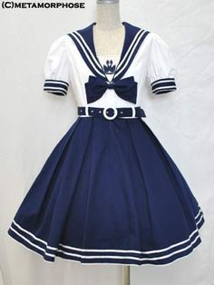 Lolibrary | Metamorphose Temps de Fille - OP - Sailor OP