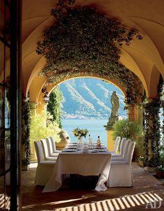 Villa at Lake Como, Italy