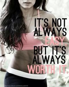 It is ALWAYS worth it!  Imagine what your body could be like in just 12 weeks!  This Total Body Transformation will make you look great and most importantly, FEEL great! #transformation