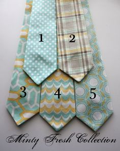 BIG Guy Spring Easter Necktie Tie - MINTY FRESH Collection - (Mens Size) - Custom Order - Photo Prop. $20.95, via Etsy.