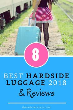 Hard or soft luggage? Go for hardside luggage, if you want your bag to be practical. Check out this list - Best Hardside Luggage Backpack Travel Bag, Travel Luggage, Travel Bags, Packing List For Travel, Packing Tips, Best Suitcases, Travel Advice, Travel Stuff, Travel Necessities