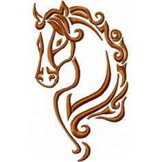 Hlava koně 2