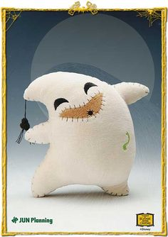 Nightmare before Christmas plush. I have this little guy! I call him my Little Bitty Boogie -Claire D