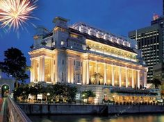 The Top 25 Luxury Hotels In Singapore - #18 - The Fullerton Hotel Singapore