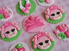 lalaloopsy cupcakes - Google Search picture topper by Lynlee's Petite Cakes