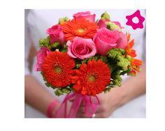 ramos, novia, colores, boda, novia, flores, enlace