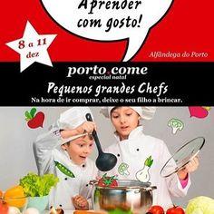 O @portopontocome vai ter um #espacokids !