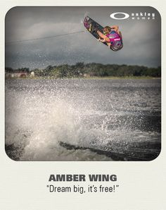 As the first woman to land huge tricks like the 900 and 720 toeside, Amber Wing is one of the best, if not the best, female Wakeboarder that this industry has seen to date. In 2012, she began a 2 year film project to document her 10 endless summers of dual hemisphere training.