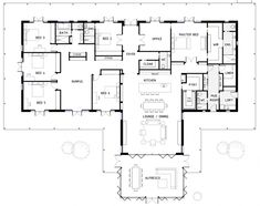 TOP BEAST Metal Building: Barndominium Floor Plans and Design Ideas for YOU! I just discovered barndominium floor plans / metal buildings that i think … best for :) 6 Bedroom House Plans, New House Plans, Dream House Plans, House Floor Plans, The Plan, How To Plan, Home Design, Plan Design, Design Ideas