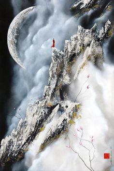 Accéder à son univers par Martin Beaupré, artiste présentement exposé aux Galeries Beauchamp. www.galeriebeauchamp.com