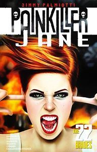 graphic novel covers painkiller jane - Google Search