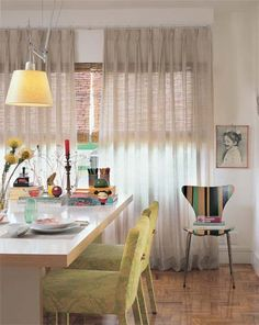 A special table - room and kitchen together