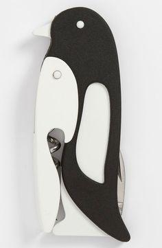 Penguin corkscrew. #hostessgift omgggggg