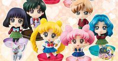 Sailor Moon Petit Chara School Life Set 2