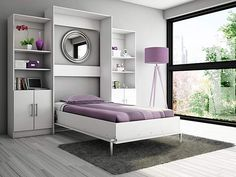 Murphy Wall Bed – With a sofa in front