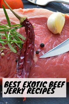 Jerky Marinade, Teriyaki Beef Jerky, Best Beef Jerky, Jerky Recipes, Beef Recipes, Food Tips, Food Hacks, Biltong, Smoking Meat